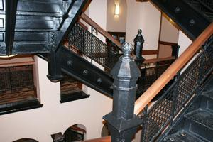 Primary view of object titled '[Black Staircases]'.