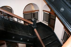 Primary view of object titled '[Staircase and Landing]'.