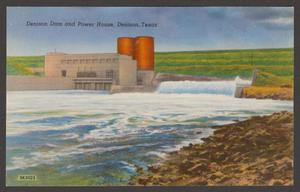 Primary view of object titled '[Denison Dam and Power House]'.