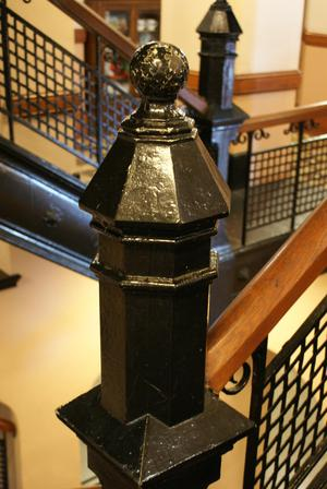 Primary view of object titled '[Stair Post'.