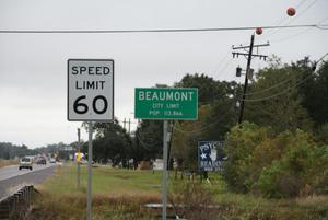 Primary view of object titled '[Beaumont City Limit]'.