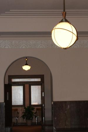 Primary view of object titled '[Inside Jefferson County Courthouse]'.
