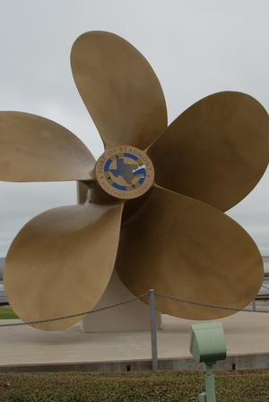 Primary view of object titled '[Propeller on Display]'.