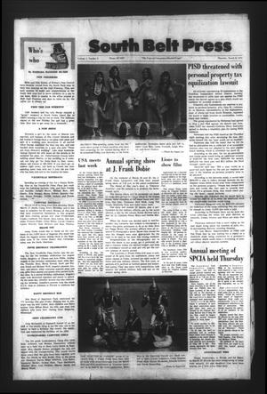South Belt Press (Houston, Tex.), Vol. 1, No. 8, Ed. 1 Thursday, March 25, 1976