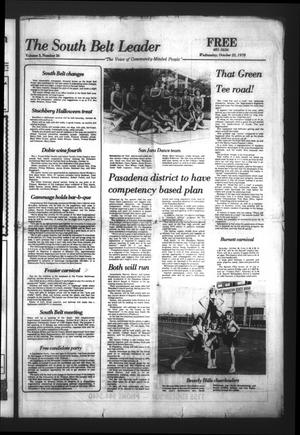 The South Belt Leader (Houston, Tex.), Vol. 3, No. 36, Ed. 1 Wednesday, October 25, 1978