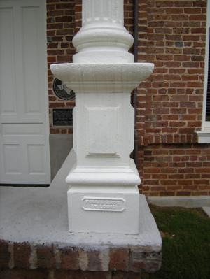 Primary view of object titled '[Base of Column]'.