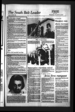 The South Belt Leader (Houston, Tex.), Vol. 3, No. 38, Ed. 1 Wednesday, November 8, 1978