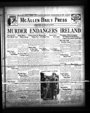 Primary view of McAllen Daily Press (McAllen, Tex.), Vol. 6, No. 162, Ed. 1 Monday, July 11, 1927