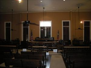 Primary view of object titled '[Centerville Courtroom]'.
