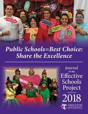 Journal of the Effective Schools Project, Volume 25, 2018