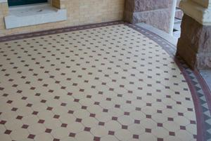 Primary view of object titled '[Tile Floor]'.