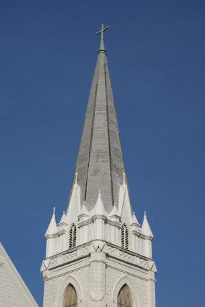 Primary view of object titled '[Church Spire]'.