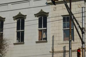Primary view of object titled '[Windows on a Building]'.