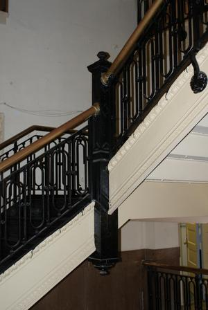 Primary view of object titled '[Stairs and Railings]'.