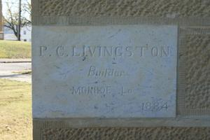 Primary view of object titled '[Cornerstone of Building]'.