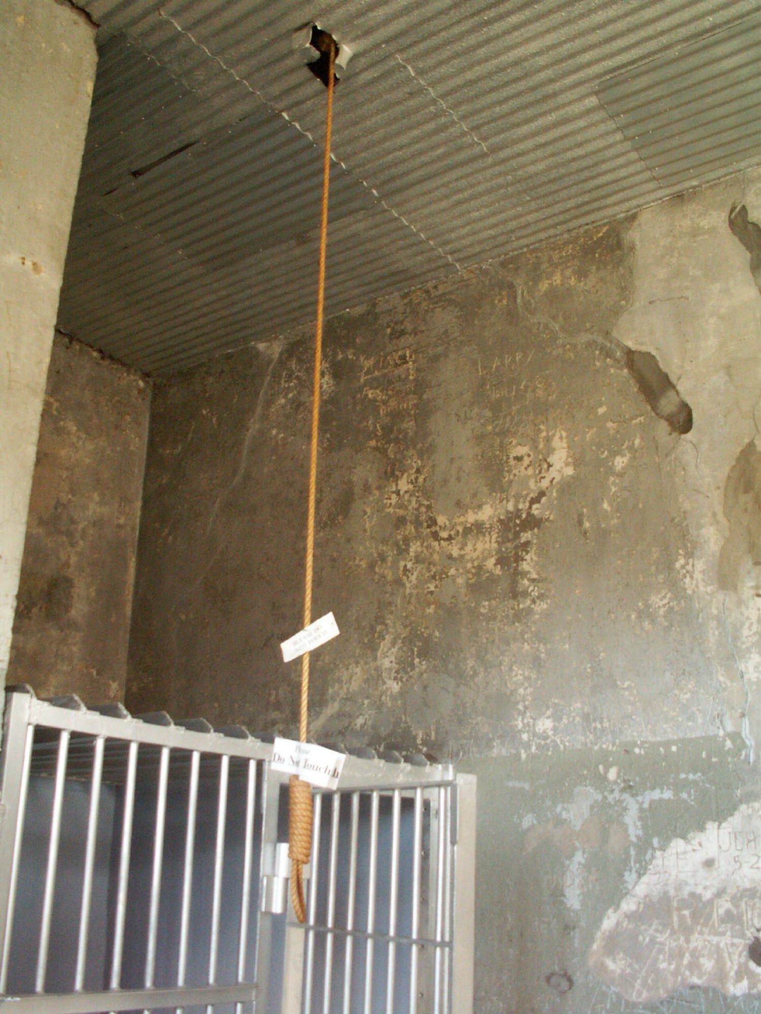 Noose Hanging From Ceiling The
