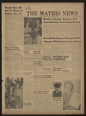 The Mathis News (Mathis, Tex.), Vol. 47, No. 22, Ed. 1 Thursday, January 25, 1968
