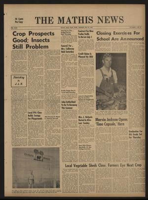 The Mathis News (Mathis, Tex.), Vol. 47, No. 34, Ed. 1 Thursday, May 22, 1969