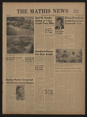 The Mathis News (Mathis, Tex.), Vol. 47, No. 6, Ed. 1 Thursday, November 7, 1968