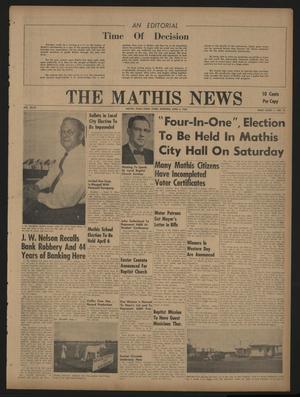 The Mathis News (Mathis, Tex.), Vol. 47, No. 31, Ed. 1 Thursday, April 4, 1968