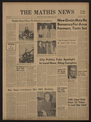 The Mathis News (Mathis, Tex.), Vol. 47, No. 24, Ed. 1 Thursday, March 13, 1969
