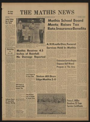 The Mathis News (Mathis, Tex.), Vol. 47, No. 43, Ed. 1 Thursday, July 24, 1969