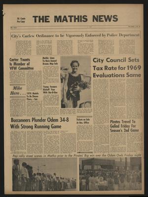The Mathis News (Mathis, Tex.), Vol. 47, No. 50, Ed. 1 Thursday, September 18, 1969