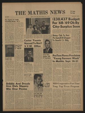 The Mathis News (Mathis, Tex.), Vol. 47, No. 52, Ed. 1 Thursday, September 19, 1968