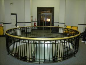 Primary view of object titled '[Circular Railing]'.