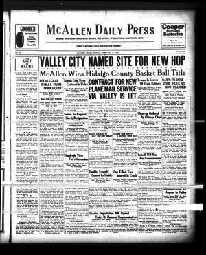 McAllen Daily Press (McAllen, Tex.), Vol. 9, No. 51, Ed. 1 Sunday, February 17, 1929