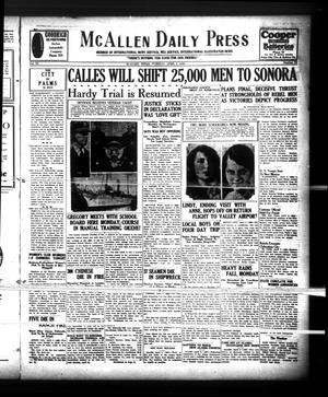 McAllen Daily Press (McAllen, Tex.), Vol. 9, No. 95, Ed. 1 Tuesday, April 9, 1929