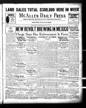 McAllen Daily Press (McAllen, Tex.), Vol. 9, No. 52, Ed. 1 Monday, February 18, 1929