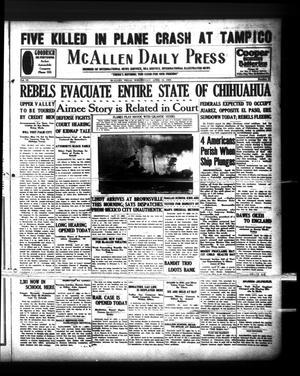 McAllen Daily Press (McAllen, Tex.), Vol. 9, No. 96, Ed. 1 Wednesday, April 10, 1929