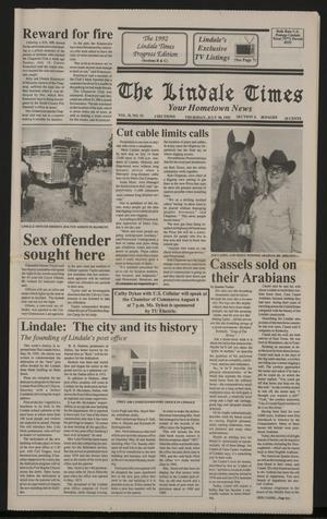 The Lindale Times (Lindale, Tex.), Vol. 2, No. 51, Ed. 1 Thursday, July 30, 1992