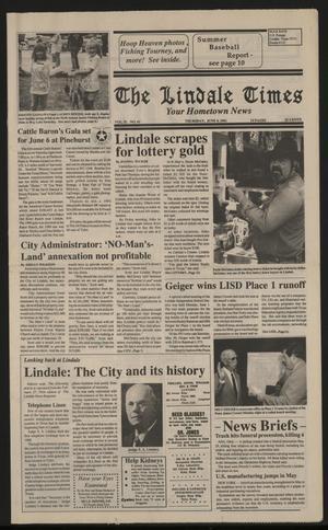 The Lindale Times (Lindale, Tex.), Vol. 2, No. 43, Ed. 1 Thursday, June 4, 1992