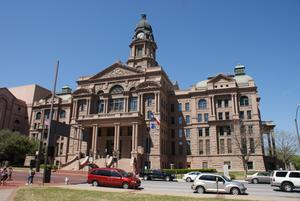 Primary view of object titled '[Tarrant County Courthouse]'.