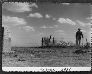 Primary view of object titled '[Photograph of La Plata Cemetery]'.