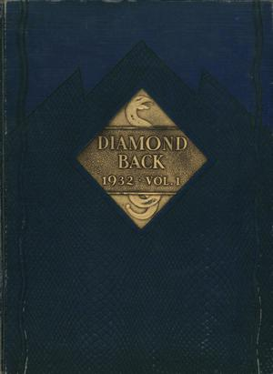 Diamondback, Yearbook of St. Mary's University, 1932