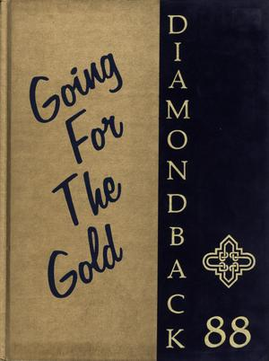 Diamondback, Yearbook of St. Mary's University, 1988