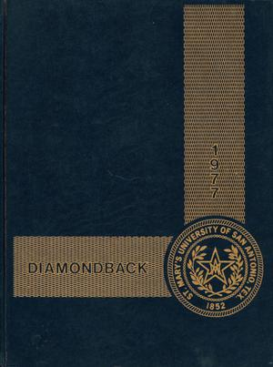 Diamondback, Yearbook of St. Mary's University, 1977