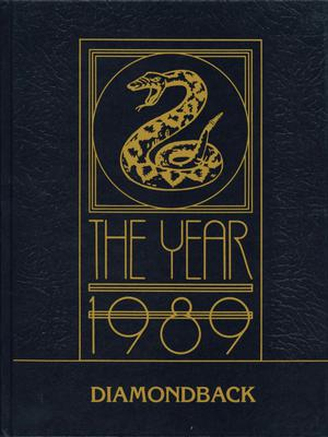 Diamondback, Yearbook of St. Mary's University, 1989