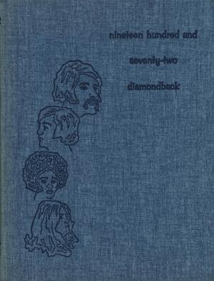 Diamondback, Yearbook of St. Mary's University, 1972