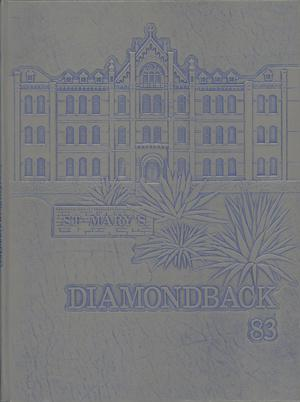 Diamondback, Yearbook of St. Mary's University, 1983