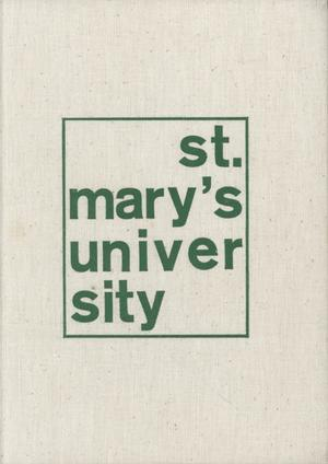 Diamondback, Yearbook of St. Mary's University, 1976