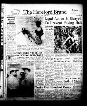Primary view of object titled 'The Hereford Brand (Hereford, Tex.), Vol. 56, No. 29, Ed. 1 Thursday, July 18, 1957'.