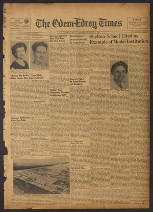 The Odem-Edroy Times (Odem, Tex.), Vol. 3, No. 49, Ed. 1 Wednesday, May 16, 1951