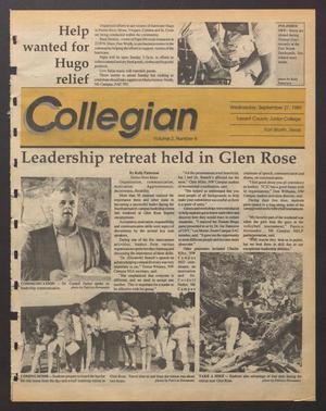 Collegian (Hurst, Tex.), Vol. 2, No. 4, Ed. 1 Wednesday, September 27, 1989