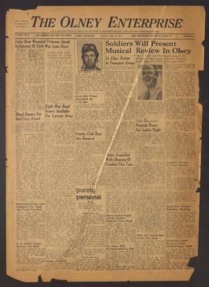 The Olney Enterprise (Olney, Tex.), Vol. 34, No. [19], Ed. 1 Friday, June 16, 1944