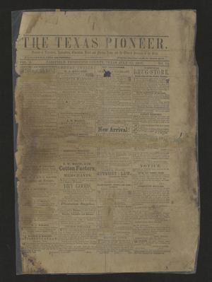 The Texas Pioneer. (Fairfield, Tex.), Vol. 2, No. 24, Ed. 1 Saturday, July 11, 1857