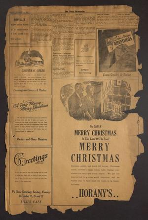 The Olney Enterprise (Olney, Tex.), Vol. [33], No. [46], Ed. 1 Friday, December 24, 1943
